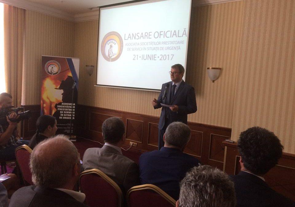 A luat ființă Asociația Societăților Prestatoare de Servicii în Situații de Urgență din România
